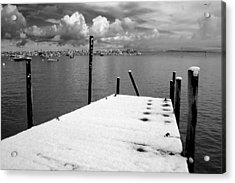 Jetty, Rhos-on-sea Acrylic Print