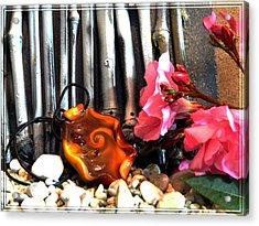 Jewel In Nature Acrylic Print by Chara Giakoumaki