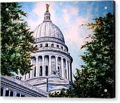 Jewel Of Wisconsin Acrylic Print