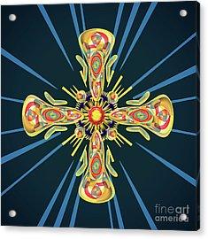 Jewelry Cross Acrylic Print