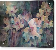 Jewels Of The Garden Acrylic Print