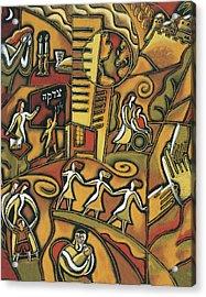 Jewish Community Acrylic Print