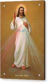 Jezu Ufam Tobie - Jezus Chrystus Acrylic Print