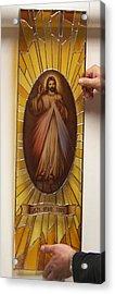 Jezu Ufam Tobie Acrylic Print