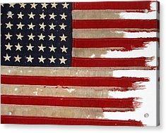 Jfk's Pt-109 Flag Acrylic Print