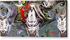 Jhiatt Acrylic Print