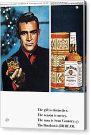 Jim Beam Ad, 1966 Acrylic Print by Granger