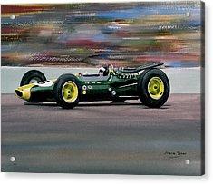 Jim Clark Indy 500 Acrylic Print