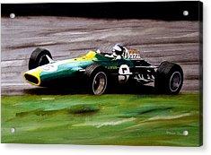Jim Clark Lotus 49 Acrylic Print