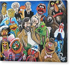 Jim Henson And Co. Acrylic Print