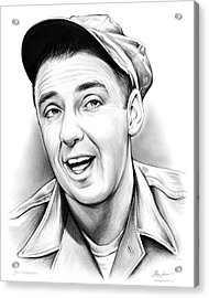 Jim Nabors Acrylic Print by Greg Joens