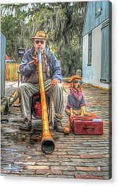 Jim Olds And Tanner Acrylic Print