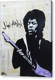 Jimi Gretness Acrylic Print