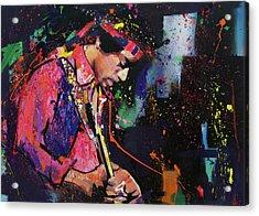 Jimi Hendrix II Acrylic Print