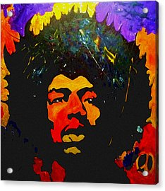 Jimi The Man Acrylic Print