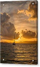 Jimmy Buffet Sunrise Acrylic Print