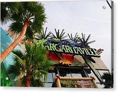 Jimmy Buffets Margaritaville In Las Vegas Acrylic Print