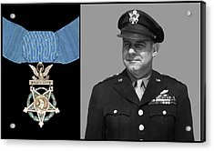 Jimmy Doolittle And The Medal Of Honor Acrylic Print