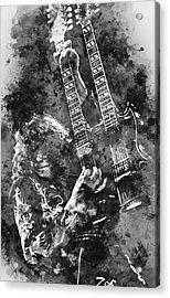 Jimmy Page - 02 Acrylic Print