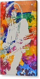 Jimmy Page Acrylic Print