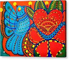 Jinga Bird - Jinga Bird Series Acrylic Print