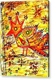 Jinga Bird II - Jinga Bird Series Acrylic Print