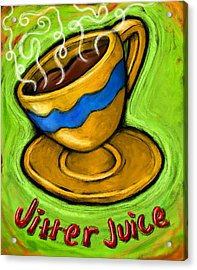 Jitter Juice Acrylic Print by David Kyte