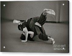 Jiu Jitsu Acrylic Print
