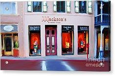 J.j. Jackson's Nevada City Acrylic Print