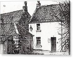 Jm Barrie's Birthplace Acrylic Print