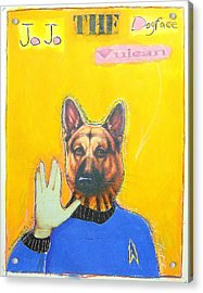 Jo Jo The Dodfaced Vulcan Acrylic Print by Mike  Mitch