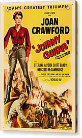 Joan Crawford In Johnny Guitar 1954 Acrylic Print by Mountain Dreams