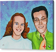 Joanne And Daniel Junod Acrylic Print by David Junod