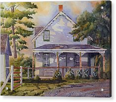 Joanne's House Acrylic Print