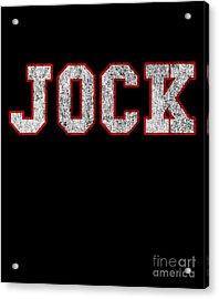 Jock Vintage Acrylic Print