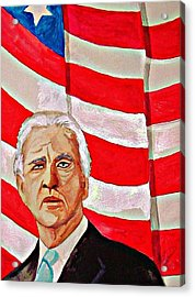 Joe Biden 2010 Acrylic Print by Ken Higgins