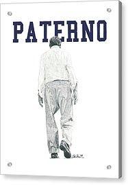 Joe Paterno Acrylic Print