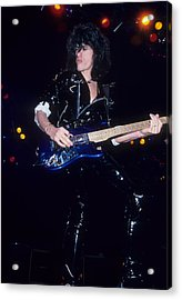 Joe Perry Acrylic Print by Rich Fuscia