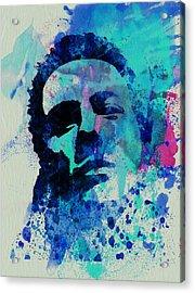 Joe Strummer Acrylic Print