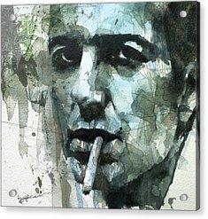 Joe Strummer - Retro  Acrylic Print