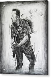 Joe Strummer's Dream Acrylic Print