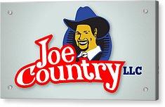 Joecountry Logo_llc Kitchen Acrylic Print by Joe Greenidge