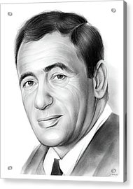 Joey Bishop Acrylic Print by Greg Joens