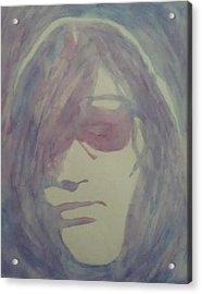 Joey Ramone Acrylic Print by Sheila Renee Parker