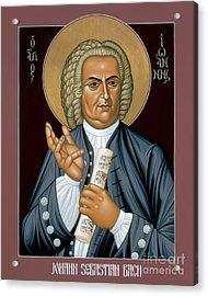 Johann Sebastian Bach - Rljsb Acrylic Print