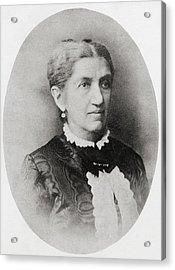 Johanna Friederike Charlotte Dorothea Acrylic Print