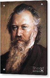 Johannes Brahms Acrylic Print by Granger