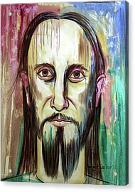 John 14 9 Anyone Who Has Seen Me Has Seen The Father  Acrylic Print by Anthony Falbo