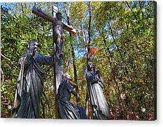Acrylic Print featuring the photograph John 3 16 by Mitch Cat