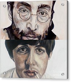 John And Paul Acrylic Print